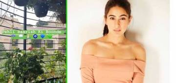 Sara Ali Khan Shares A Video As It Rains In Mumbai And Craves For Rajma Chawal
