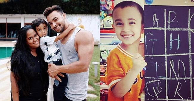 Dad Aayush Sharma Pens A Lovely Note For His Son, Ahil's Biggest Achievement On Learning Alphabets
