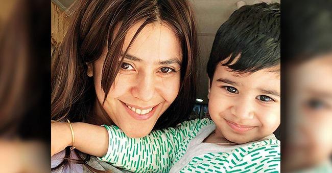 Tusshar's Son Laksshay Turns 4, Bua Ekta Calls Him 'Jaan' & Says 'Thanku For Making Me Mommy First'