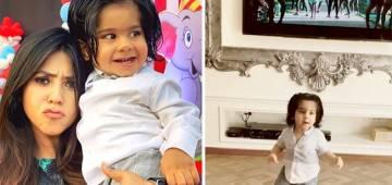 Ekta Kapoor's Son Ravie Shakes A Leg On Allu Arjun's Song; Elated Mom Shares Cute Video