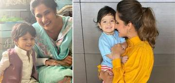 Sania Mirza Posts A Smiling Pic Of Her Son Izhaan With Nani, Captions 'My Nannnaaa & I Always Having A Laugh'