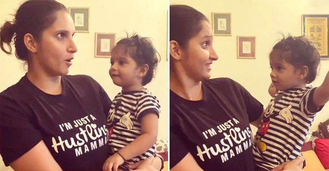 Mom Sania Mirza Shares Video Of Funny Conversation With Her Lil Munchkin Izhaan Mirza Malik