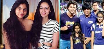 Throwback Pic Of Suhana, Ananya With SRK & Hrithik Will Bring A Smile On Your Face