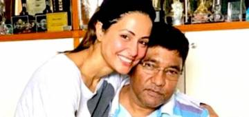 Hina Khan's funny banter with father