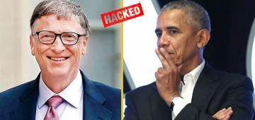 Twitter accounts of Bill Gates, Obama, Elon Musk hacked