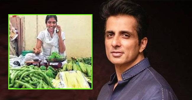 After being laid off, techie starts selling vegetables; Sonu Sood offers her a job