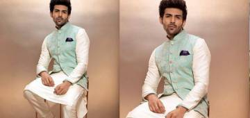 Kartik Aaryan Shares Picture Looking All Dapper In An Ethnic Set With A Bandhgala Jacket