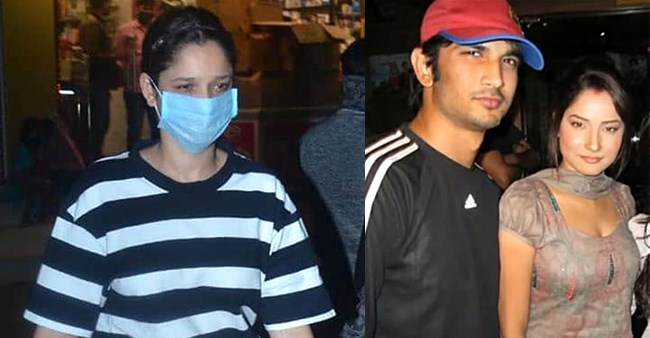 Sushant's Ex-Ladylove Ankita Lokhande Steps Out For Grocery Shopping, Distributes Chocolates To Kids