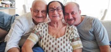 Anupam Kher's mother, brother and other two members test positive, admitted to Kokilaben Hospital