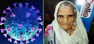 100 year old overcomes pandemic virus