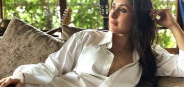Saif Lent His Shirts To Wifey For Her Latest Magazine Photo Session; Bebo Calls Him 'Great Husband'
