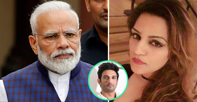 Sushant's Sister Requests PM For An Urgent Scan Of The Whole Case