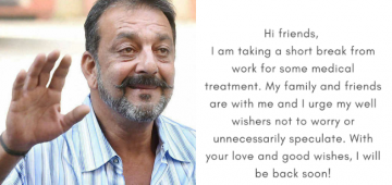Sanjay Dutt Diagnosed With Lung Related Problem, To Jet Off To US For Treatment