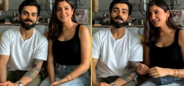 Virat & Anushka Take A Break; Enjoy Fun-Filled Quiz Show With Fans