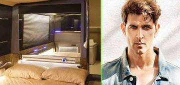 Hrithik Roshan's Vanity Van Is A Style Apart; Has A 280° Turning Mirror And Other Features