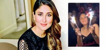 Kareena's B'day Celebration Video Shows She Is Still A Glam Queen At 40