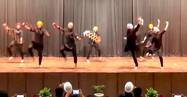 Electrifying Bhangra Performance On 'Gasolina' Will Be Your Go-To Sangeet Act With Your Family