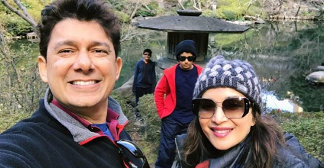 Madhuri Dixit Posts A Throwback Family Pic From One Of Her Perfect Family Trips
