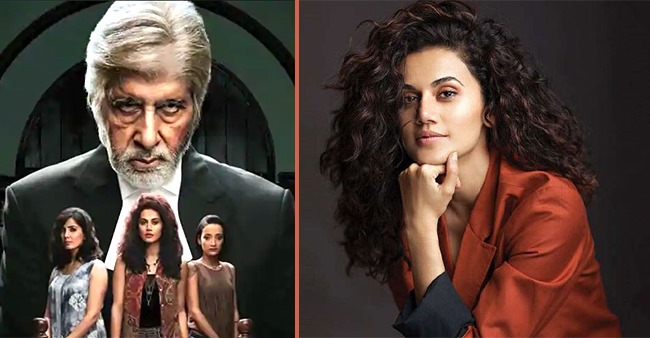 4-Yrs Of 'Pink': Taapsee Shares Her Beloved Moments & Talks On Her Bond With Big B