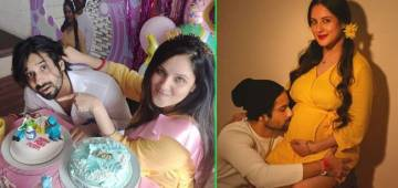Puja Banerjee & Kunal's Partner Yoga Pic From Pregnancy Photo Session Will Win Your Heart