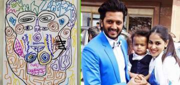 Riteish Deshmukh Shares Pic As He Enjoyed An 'Artsy Thursday' With Son, Riaan