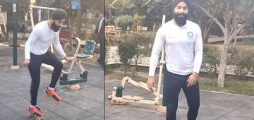 21-YO Indian Man Makes It To Guinness World Records For Most Skips On Roller Skates In 30-Sec