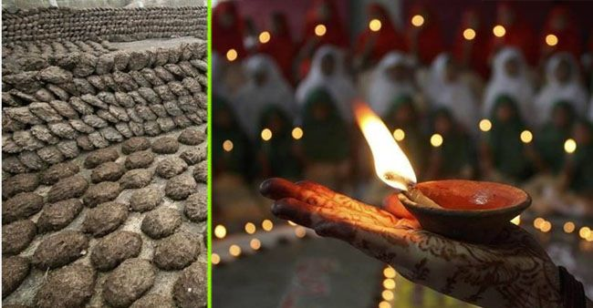 India to avoid Chinese lights as 33 Cr cow dung diyas will arrive in the market this Diwali