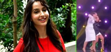 India's Best Dancer: Nora Fatehi is back on the show as a judge, groves with Malaika & Geeta; Watch