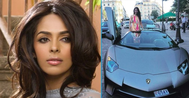 Luxurious cars from Mallika Sherawat's collection that she was seen driving