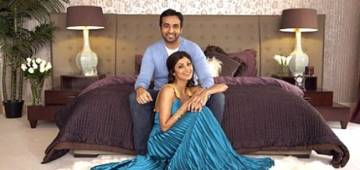 Sneak peek into diva Shilpa Shetty's extravagant Juhu bungalow; Pics