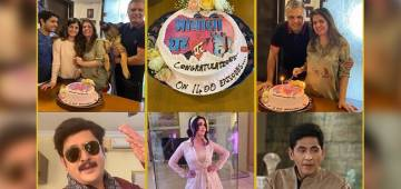 Bhabiji Ghar Par Hain Hits 1400 Episodes Mark, Show Makers Sanjay & Binaiferr Host A Celebration On Sets