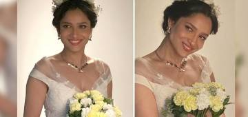 Ankita Lokhande Looks Surreal As A Bride In A White Robe; Don't Miss Her Pics