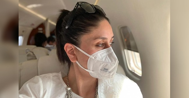 Hours After Returning To Mumbai, Bebo Shares An In-Flight Pic Of Herself Gazing Via Plane Window