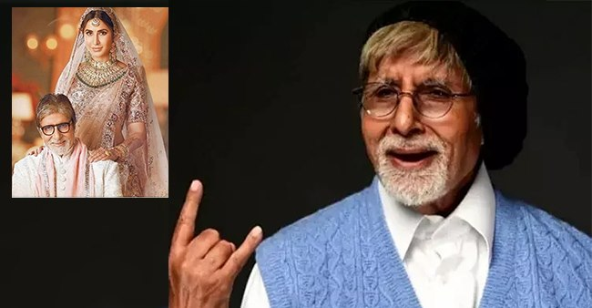 Big B Seemed To Be In Comical Mood As He Shared A Throwback Pic With Katz; Called Actress 'Devi G'