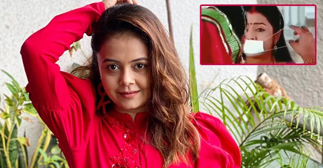Devoleena Aka Gopi Bahu Posts A Funny Video From SNS Showing MIL Kokila Projecting Pandemic In Advance