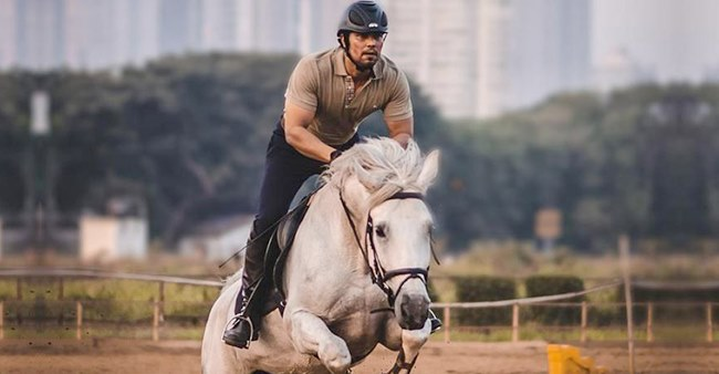 Randeep Hooda Enjoys Horse Riding After Getting Fully Recovered; Says 'Back In The Saddle'
