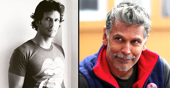 Keeping Up With The Throwback Tradition, Milind Soman Shares A Pic Clicked 25 Years Ago