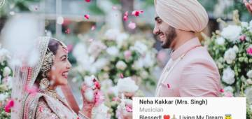 Post Her Grand Wedding With Rohanpreet Singh, Singer Neha Adds 'Singh' To Her Name