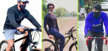 Celebs Like Sallu, Ranbir & Others Enjoyed Cycling During Lockdown