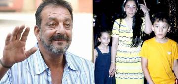 After Recovering From Health Problem, Sanju Baba Flew Off To Dubai & Reunite With His Family