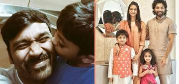 South Stars Like Yash, Dhanush & Others Are Proud Dads & Their Cute Pics With Their Babies Often Go Viral