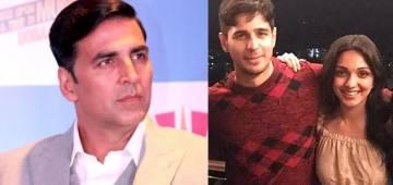 Akshay Kumar gives a hint about Kiara dating Sidharth, calls her 'Sidhanto Wali Ladki'