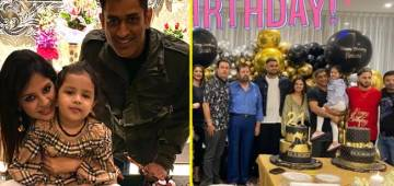 Pics: MS Dhoni's wife Sakshi celebrates her 32nd B'day with daughter Ziva, cuts two huge cakes