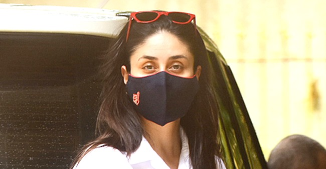 'Main Mask Nahin Utaarugi,' Says Bebo While Posing For Media, But Eventually Takes It Off; Video