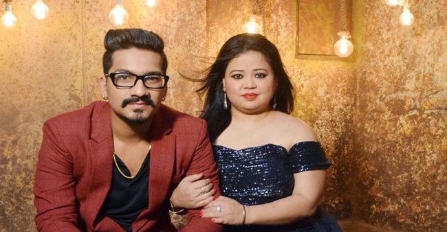 Comedian Bharti Singh and husband Harsh Limbachiyaa questioned by NCB after conducting a raid