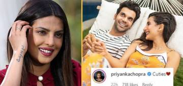 Rajkummar Rao's Pic With GF Patralekhaa Attracts His 'The White Tiger' Co-Star PeeCee's Attention; She Finds It Cute