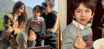 Cost Of Taimur Ali Khan's Favorite Grey Sweater Is Equal To Your Monthly Grocery Bill
