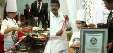 Tamil Nadu's SN Lakshmi Sai Sri sets record for cooking 46 dishes in 58 minutes