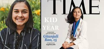 Student, Author, Baker: Meet 15-YO Gitanjali Rao Time Magazine's First-Ever Kid Of The Year