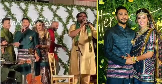 Gauahar Khan finally got hitched to Zaid Darbar